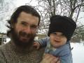 Сына и папа